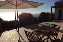 Veja o por do sol neste magnífico terraço
