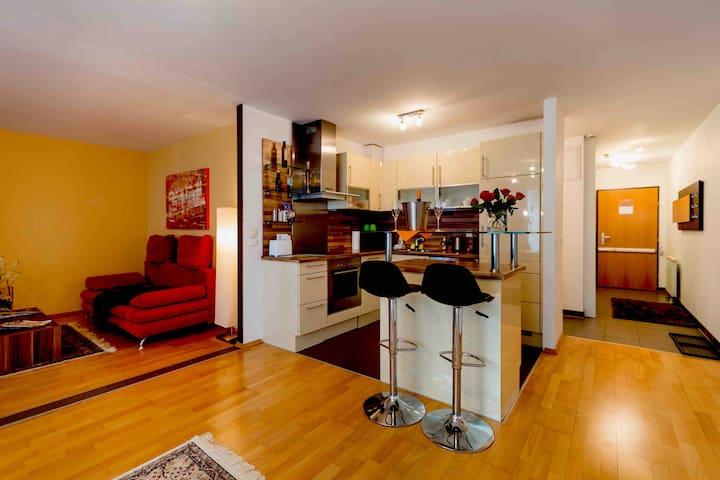 Deluxe city apartm. in top location incl. Garage