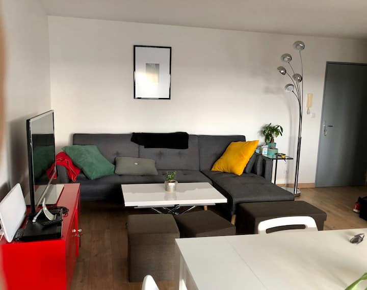 Appartement de Centre Ville avec Vue dégagée