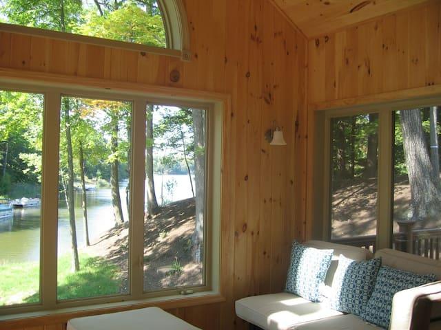 Lakefront vacation, lake/mtn views - Ateny - Dom