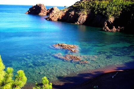 Appt 200m mer,criques sable fin, Site exceptionnel - Saint-Raphaël - Apartmen
