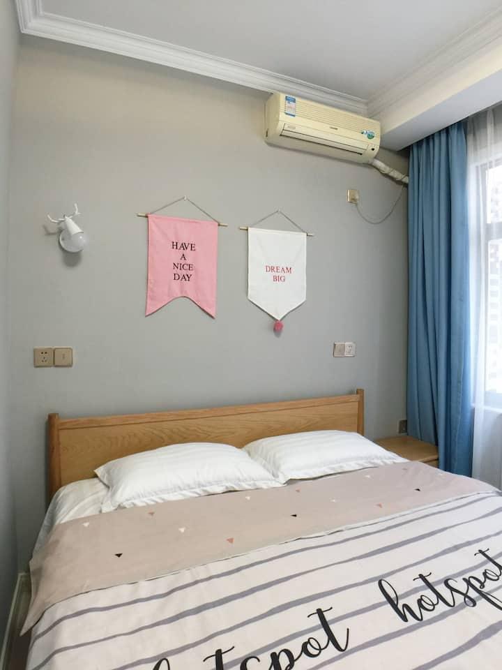 莉菲·hotel_自助烹饪海边旅舍情侣房(刘庄夜市店)每层公用厨房