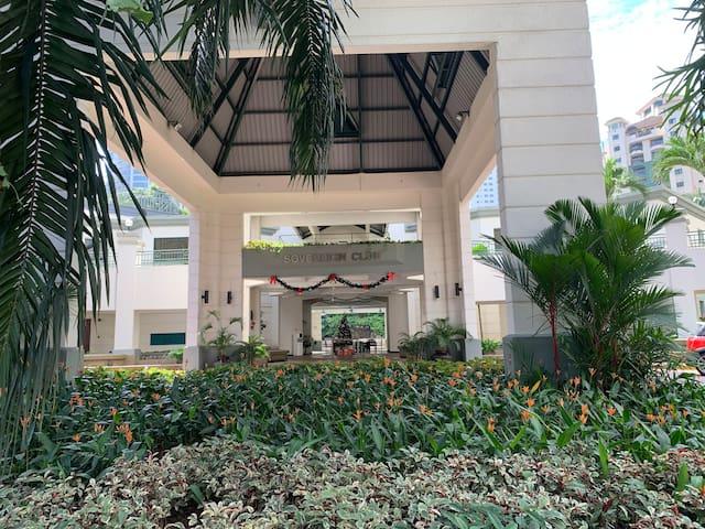 A Resort style condominium amenities in Mt Kiara