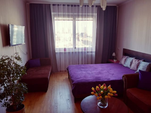 Большая уютная 3-комнатная квартира в Гродно,центр