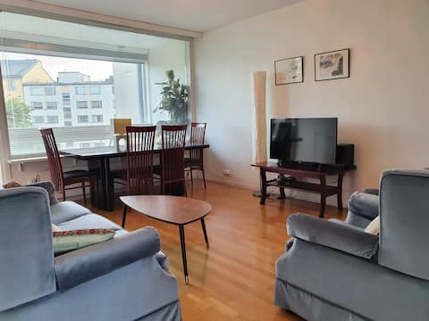 Bright apartment in prime location & parking place