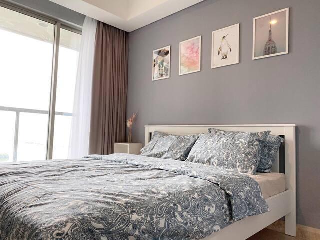 Cozy Stay @ Gold Coast PIK Sea View Apartment