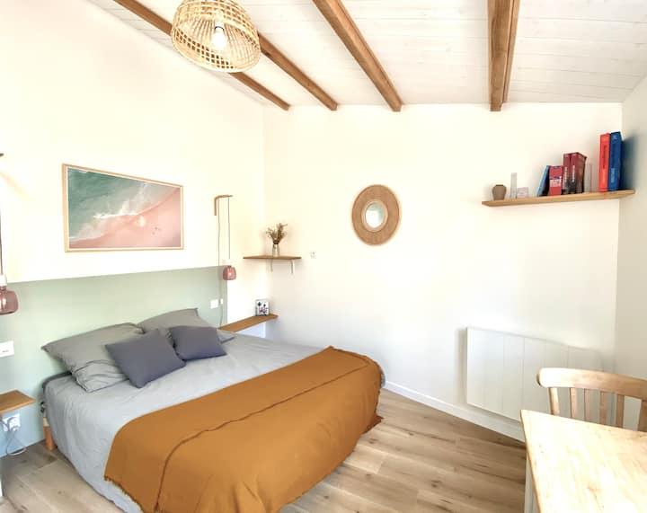 Joli Studio avec terrasse La Rochelle-Ile de Ré