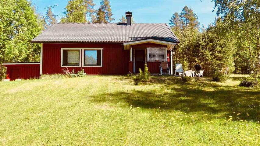 Finnish house lakeside Savonlinna