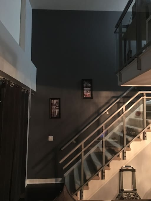 2 floors and lots of space