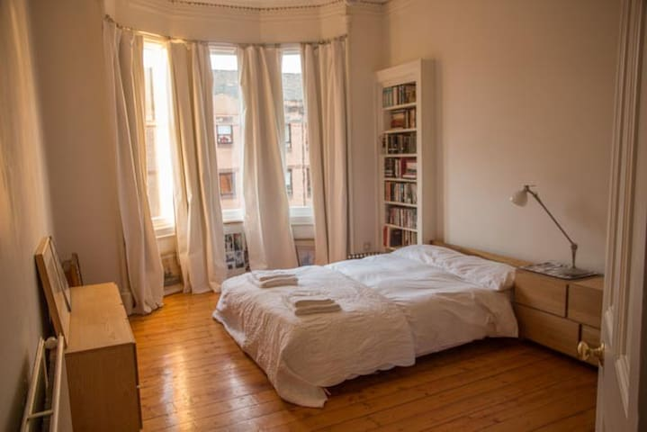 Spacious flat in heart of  city