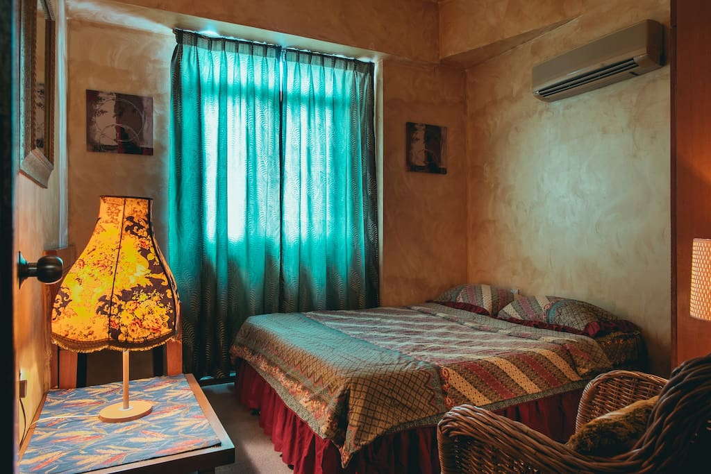 Your cozy room to retire to after a long exciting day of exploring the city