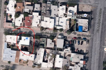 Un cuarto zona centrica - Ciudad Juarez