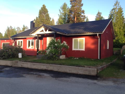 Modern villa in a quiet area in central Kramfors