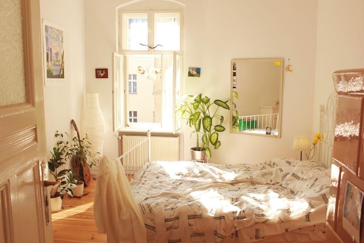 Luminous room in shared apartment in hip quarter