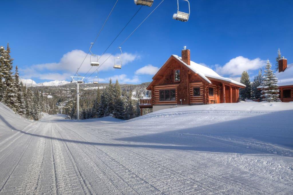 Ski-in / Ski-ou