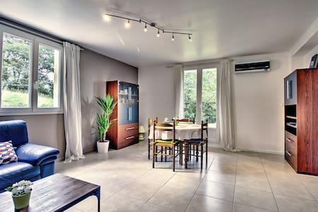 F3, 80m² tout confort, cuisine, 2 chbres Montmorot - Montmorot - 公寓