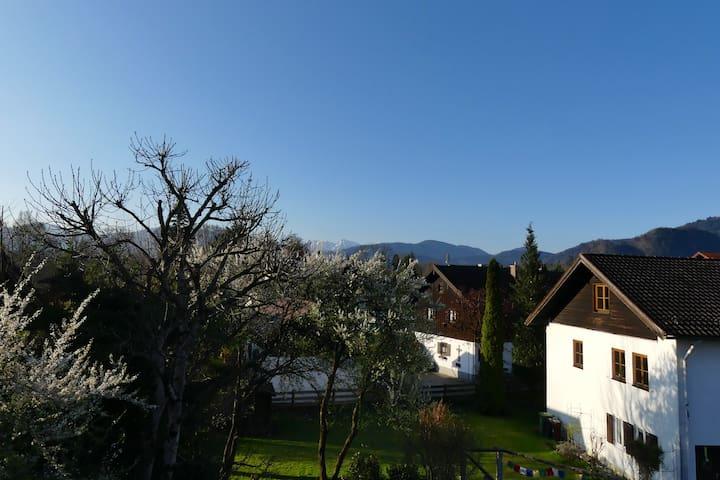 Wie zu Hause fühlen und entspannen im Edelweißeck - Lenggries - บ้าน