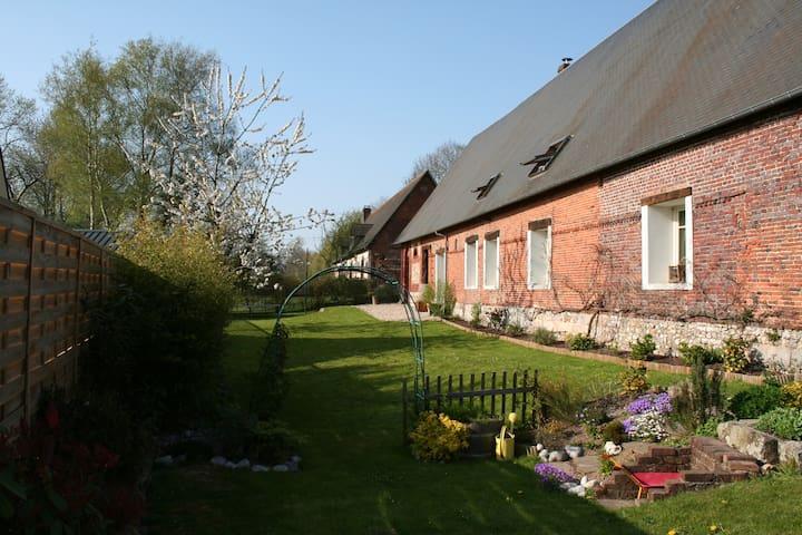 Ancienne dépendance du château - Hugleville-en-Caux - บ้าน