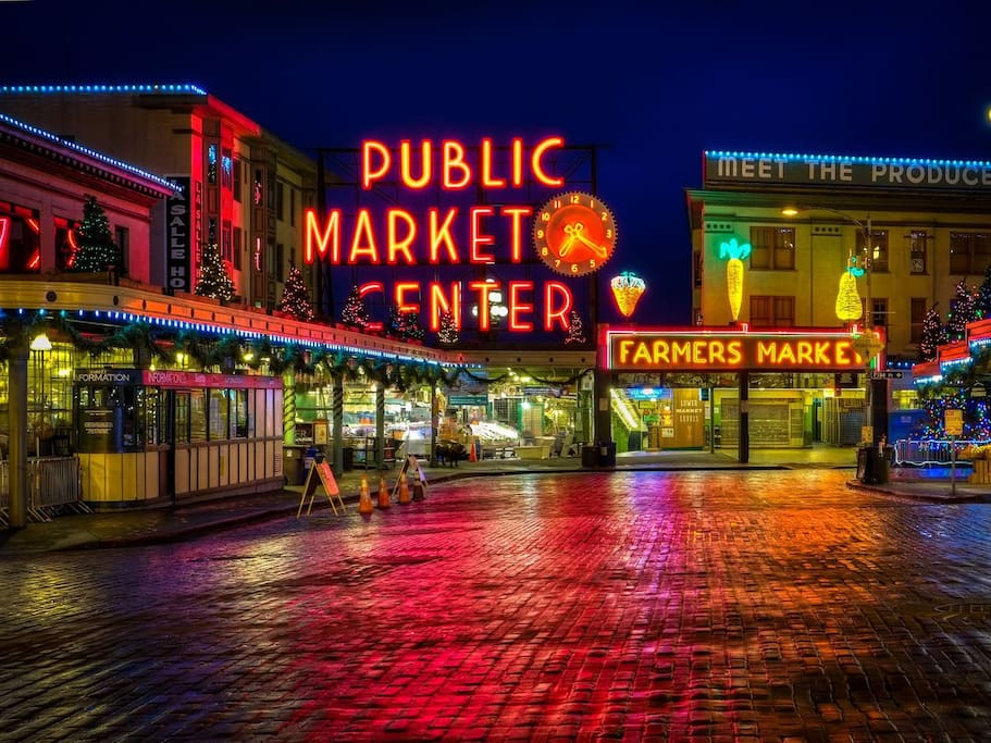Minutes walk away from Pike Place Market