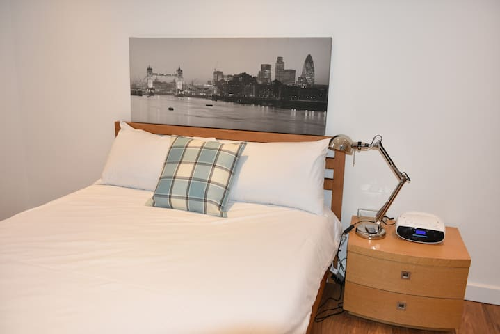 Delightful Double Room with Private Bathroom.