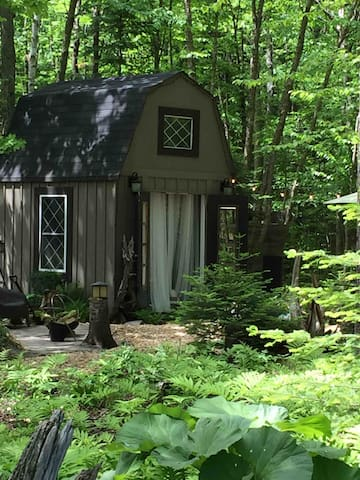 The Funky Bunkie In The Woods. {A Zen Retreat}