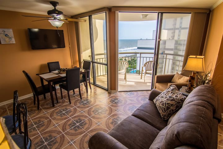 The heart of Myrtle Beach updated condo with a great view! 908