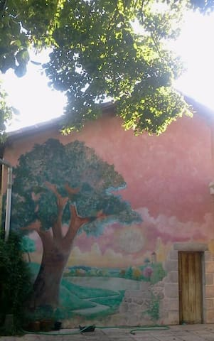 maison de campagne cadre idyllique - Calignac - Huis