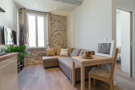 Pretty 2P : bright and comfortable - Antibes