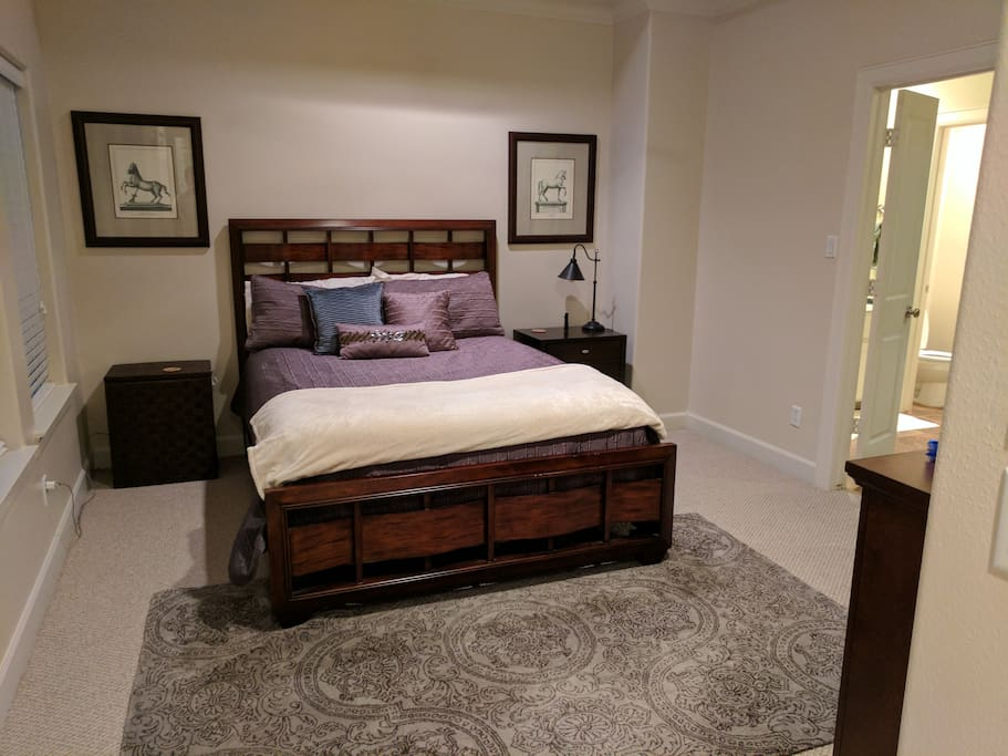 Full master bedroom suite