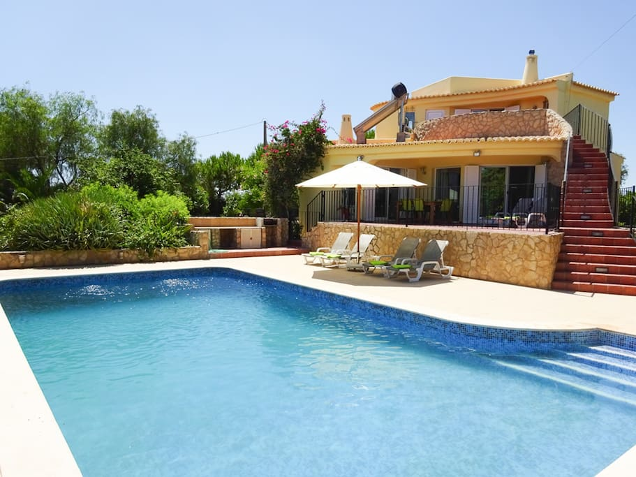 Private 10m X 5m pool.