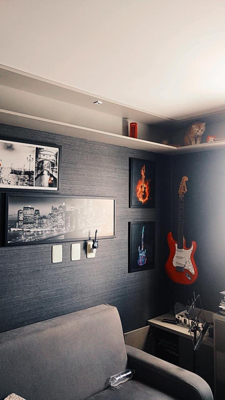 Quarto em apartamento no José Américo, João Pessoa