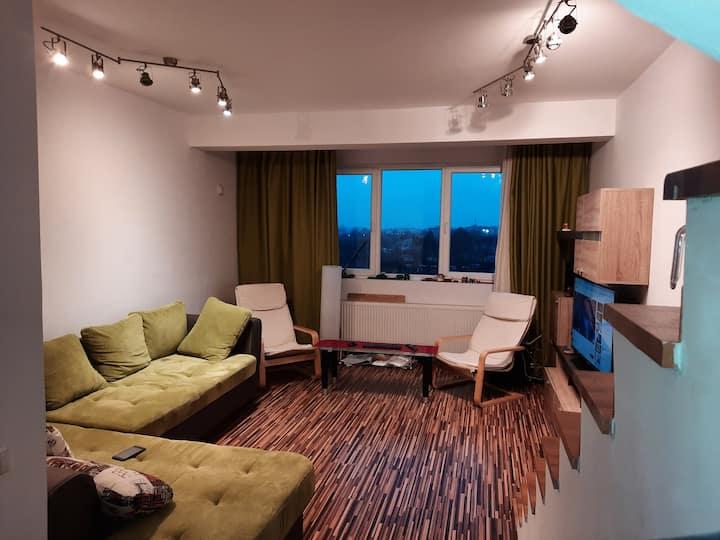 Apartament 3  camere pe 2 nivele