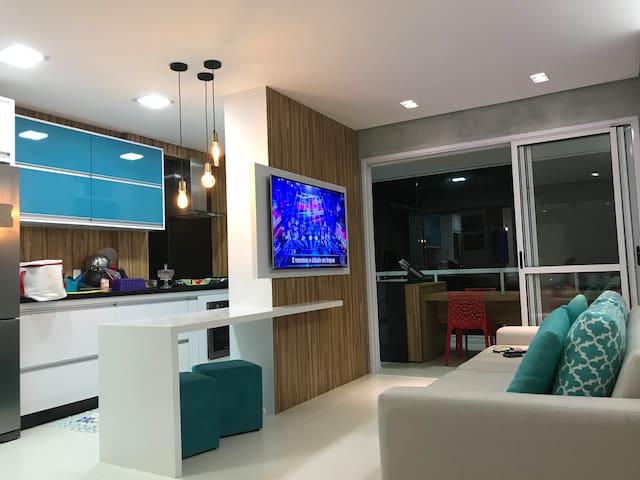 Apartamento para Família no Guarujá.