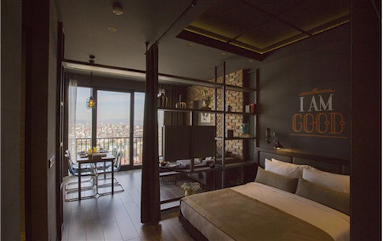 Cityloft 161, One Bedroom Standard / Ataşehir