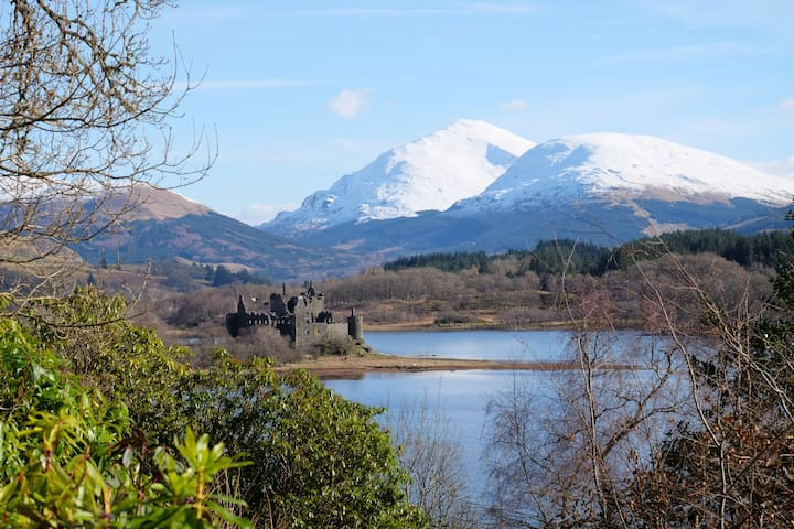 Tower of Glenstrae - Loch Awe