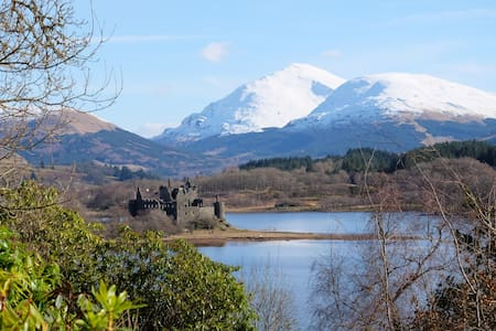 Tower of Glenstrae - Loch Awe - Dalmally - Dom