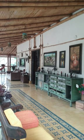 Hermosa y tipica Casa campestre - Nocaima, Cundinamarca, CO - House