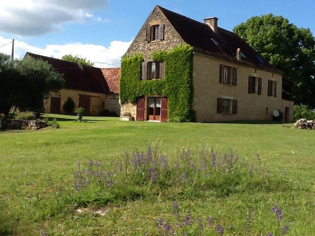 Le pré charmant au coeur du Périgord Noir - Saint-Cybranet - Cabaña en la naturaleza