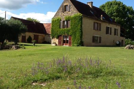 Le pré charmant au coeur du Périgord Noir - Saint-Cybranet - 自然小屋
