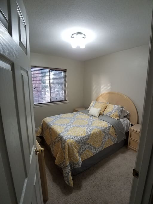 Queen Size Private Room with Lock and Safe