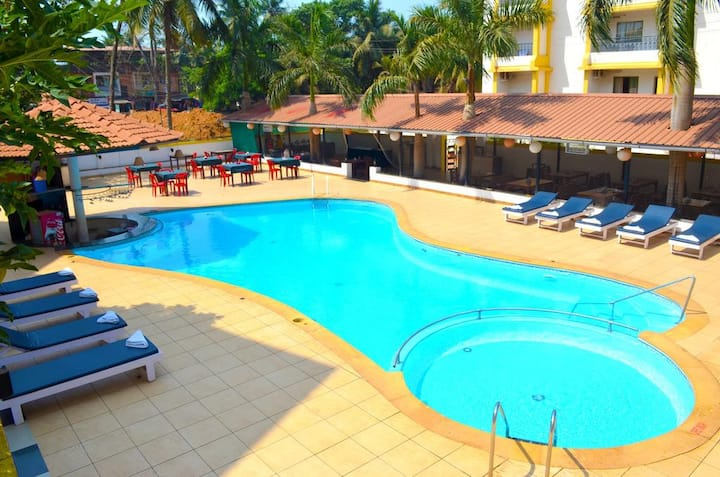 Minimalistic 1BHK Bed and Breakfast at South Goa