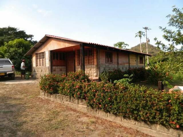 Cabaña rustica full naturaleza - Santa Marta