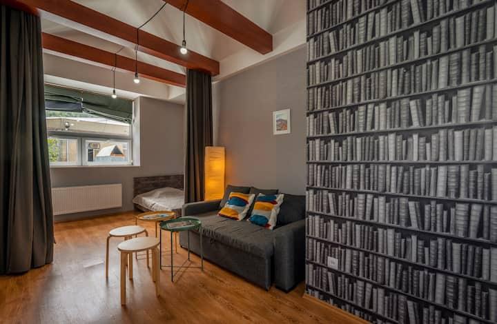 Recently renovated! Loft on Rustaveli + best views