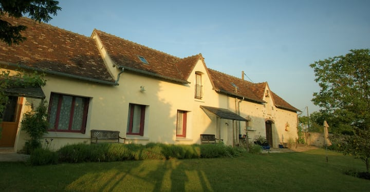 Loire Valley country cottage France