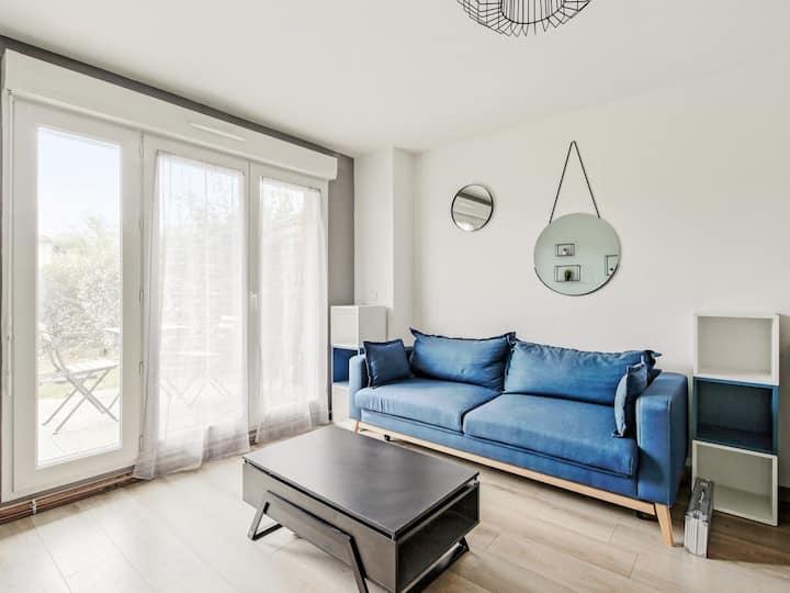 Cozy flat with garden and parking close to DIsneyland Paris - Welkeys