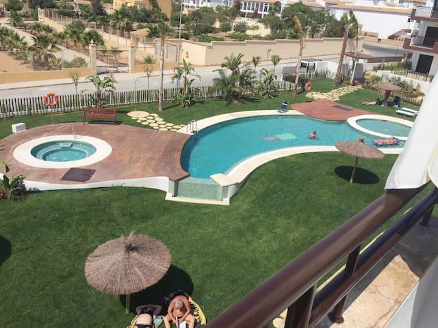 Takterass & stor balkong i sydväst Playa Flamenca - Orihuela - Apartment