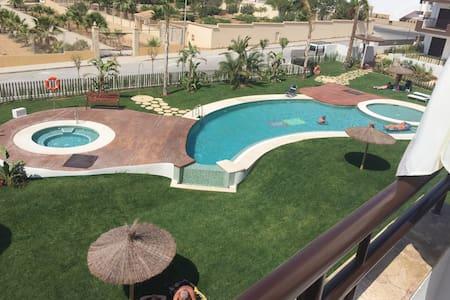 Takterass & stor balkong i sydväst Playa Flamenca - 奥利维拉 - 公寓