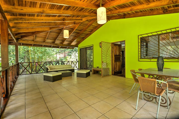 3BD RENEW Tropical Garden Home in wildlife refuge - Provincia de Limón - Haus