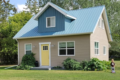 The Blue Tin roof