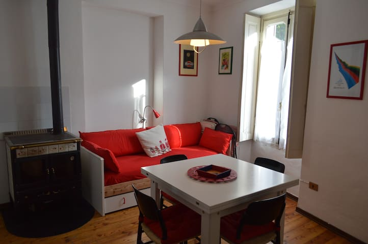 cozy apartment in the center of Cesana Torinese - Cesana Torinese